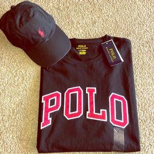 Polo Ralph Lauren Hat And Shirt Bundle